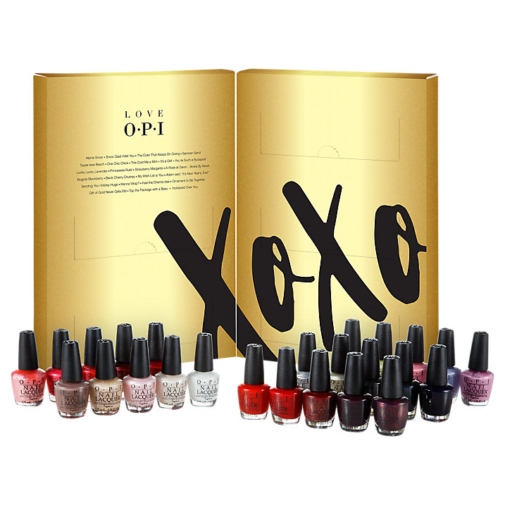 opi advent calendar 2017 - beauty advent calendar 2017 see more at icangwp blog