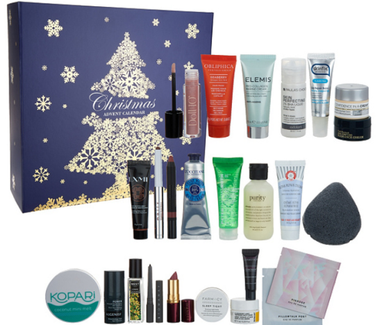 QVC Beauty Christmas Advent Calendar 24 piece Kit — QVC advent calendar 2017 USA see more at icangwp blog