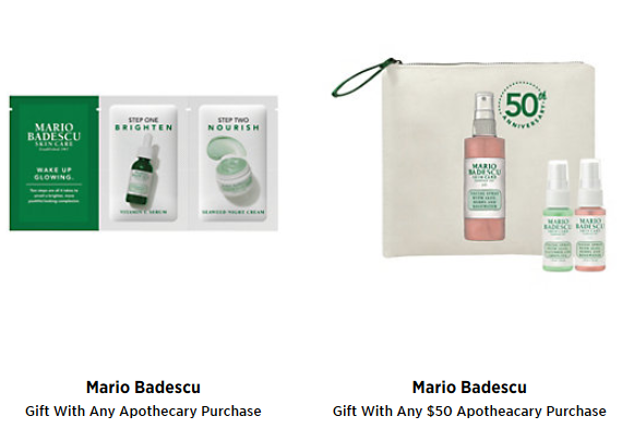 saks apothecaryGifts with Purchase saks.com