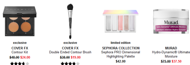 Sephora weekly wow 1 Coupons Promo Codes Coupon Codes Sephora