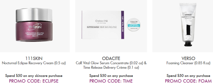 Space NK Apothecary oct 2017 24 Offers and Gifts with Purchase