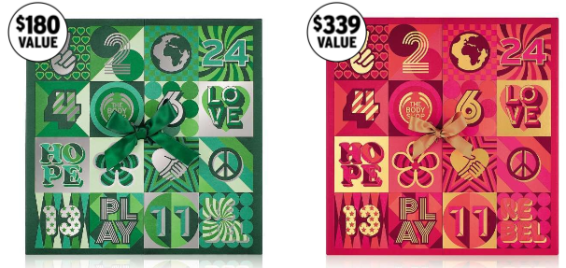 the body shop advent calendar 2017 USA see more at icanwp blog