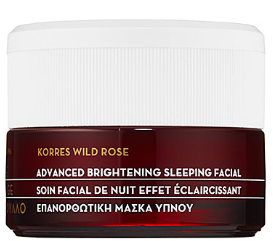 Wild Rose Vitamin C Advanced Brightening Sleeping Facial KORRES Sephora