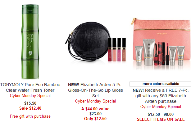 Beauty Cyber Monday Deals 2017 Cyber Week – Macy_s elizabeth arden png