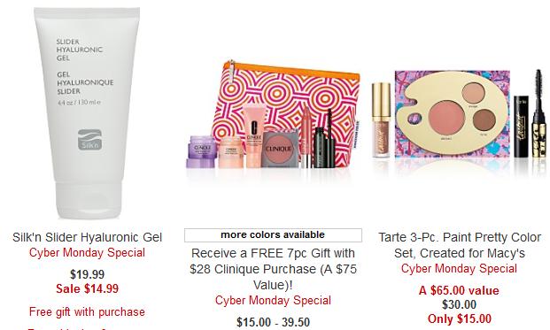 Beauty Cyber Monday Deals 2017 Cyber Week – Macy_s tarte