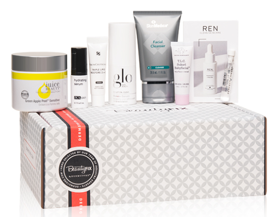 BeautyFIX Subscription november Box Dermstore