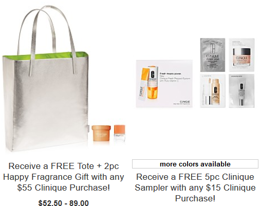 Clinique gift with purchase at Macys dec 2017 see more at icangwp beauty blog
