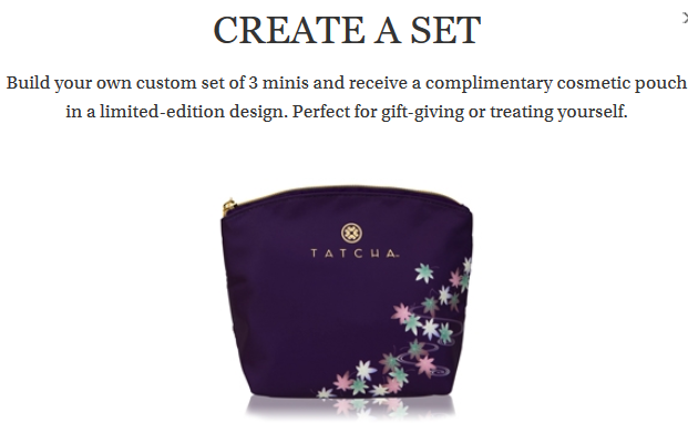 Create A Gift Set Tatcha