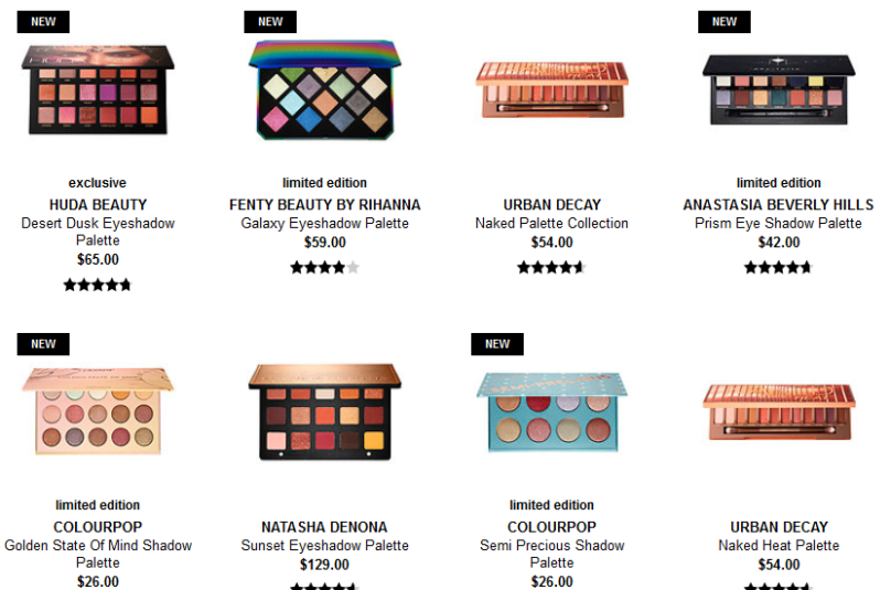 Eyeshadow Palettes Eyeshadow Sets Sephora