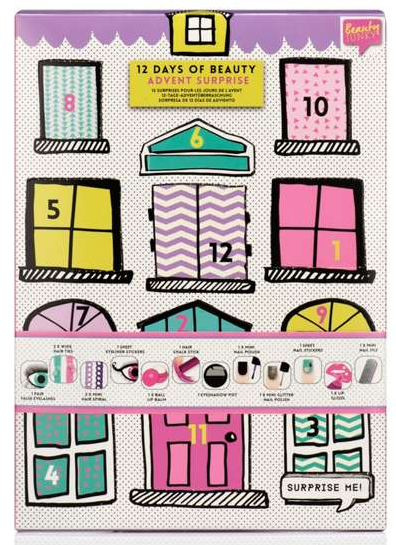 House of Fraser Beauty Junky 12 Days Of Beauty Advent Suprise - advent calendar 2017 see more at icangwp blog