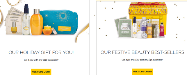 l'occitane cyber monday gift with purchase see more at icangwp blog