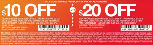 macy's Black Friday 2017 top deals 10 off - see more at icangwp blog