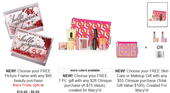 macy's Clinique Beauty Gift With Purchase nov 2017 see more at icangwp blog