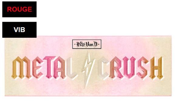 Metal Crush Extreme Highlighter Palette Kat Von D Sephora