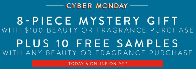 Nordstrom cyber monday 10pc gift with any purchase see more at icangwp blog