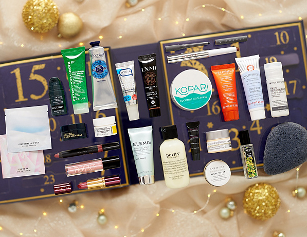 QVC Beauty Christmas Advent Calendar 24 piece Kit Page 1 — QVC.com