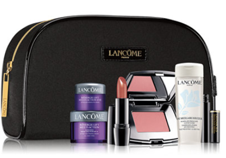 Receive a FREE 7 Pc. gift with any 35 Lancôme purchase Gifts with Purchase Beauty Macy s