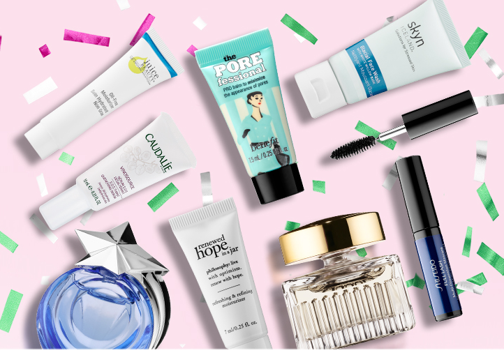 sephora.ca coupon Choose a Trial Size 2017 Sephora