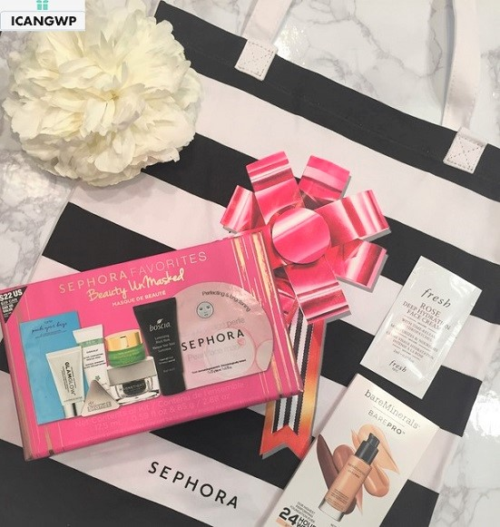 sephora favorites beauty unmasked 2017 reviews by IcanGWP blog haul