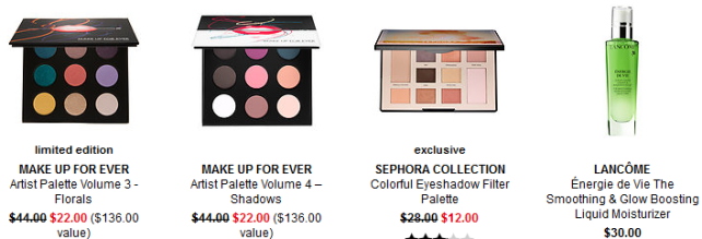 Sephora weekly wow deals nov 2017 9 2 Promo Codes Coupon Codes Sephora