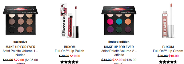 Sephora weekly wow deals nov 2017 9 Promo Codes Coupon Codes Sephora