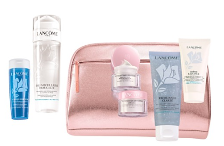 Skincare Essentials Collection for 39.50 with any Lancôme purchase Bloomingdale s
