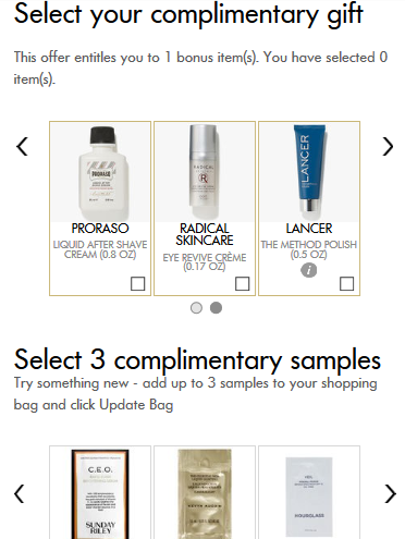 Space NK Apothecary London new gift with purchase system nov 2017 see more at icangwp blog