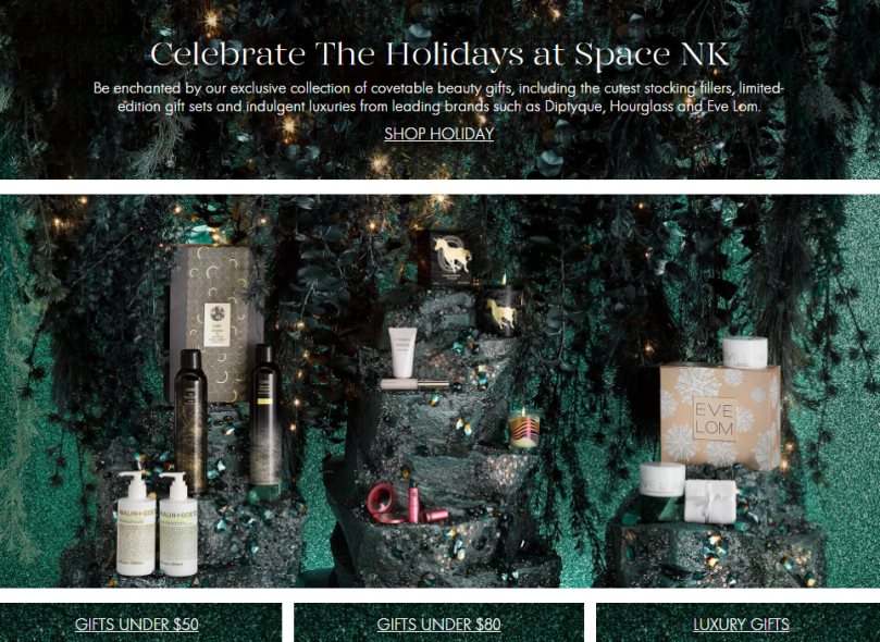space nk us holiday shop 2017