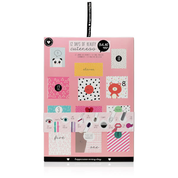 the hut Oh K beauty advent calendar 2017 see more at icangwp blog