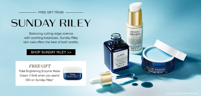 cult beauty sunday riley see more at icangwp beauty blog