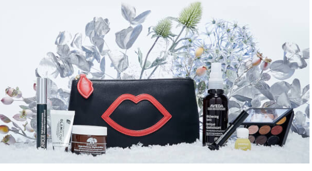 Lulu Guinness X lookfantastic Makeup Bag Worth £191.00 Free Shipping Reviews Lookfantastic