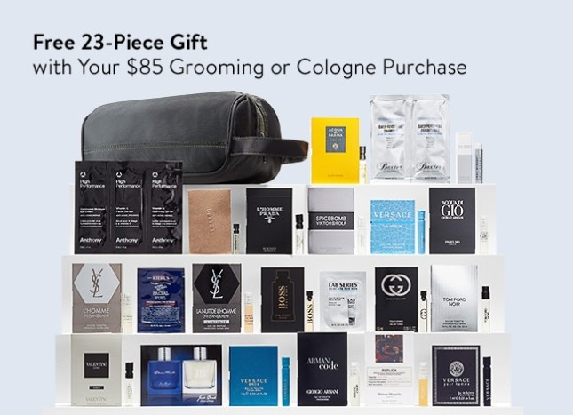 nordstrom 23-piece gift with 85 grooming purchase see more at icangwp blog dec 2017