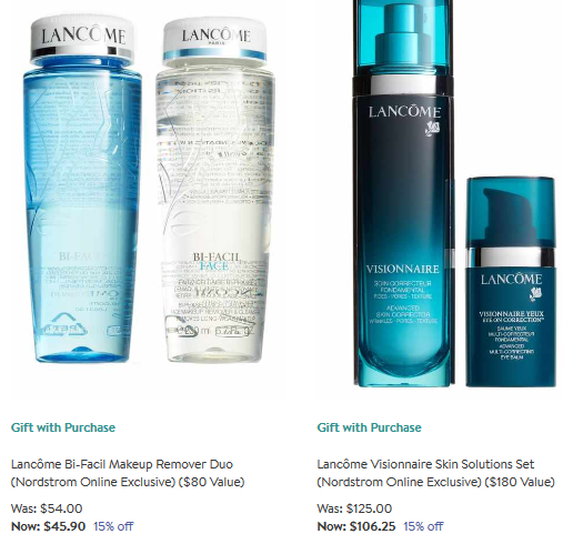 nordstrom lancome Beauty Sale dec 2017 see more at icangwp gift with purchase blog