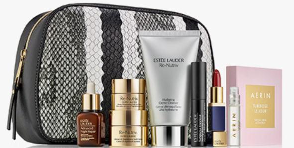 Saks estee lauder gift with purchase 8 piece with 80 see more at icangwp beauty blog