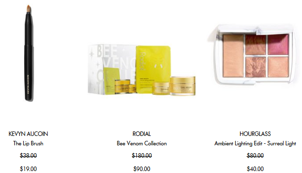 Space NK us winter sale dec 2017 see more at icangwp beauty blog 3