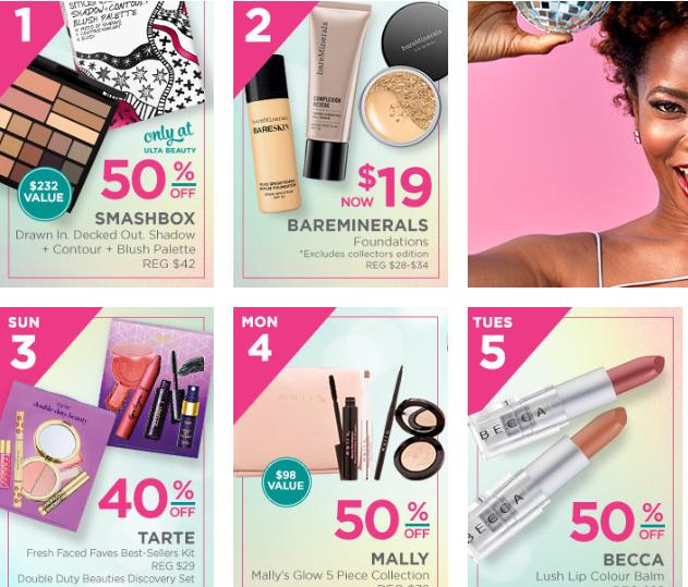 Sephora 25 Delights Vs Ulta 25 Days Holiday Beauty Blitz