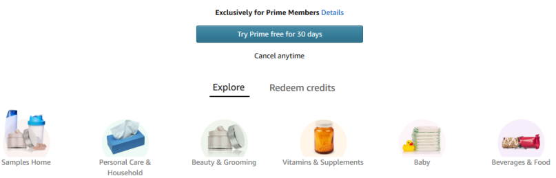 Amazon free sample amazon Prime Samples jan 2018 see more at icangwp beauty blog your beauty destination