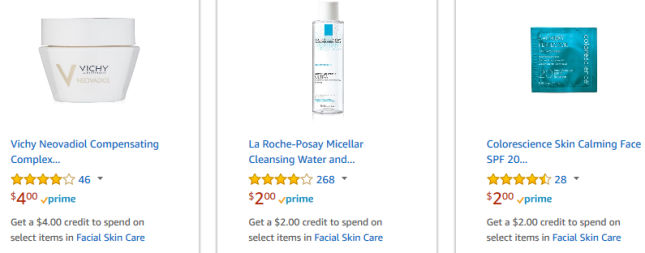Amazon free sample amazon Prime Samples skincare jan 2018 see more at icangwp beauty blog