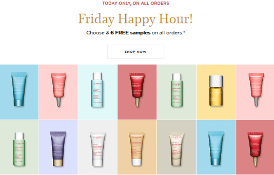 clarins Gift with Purchase Free Shipping and Samples jan 2018 see more at icangwp blog