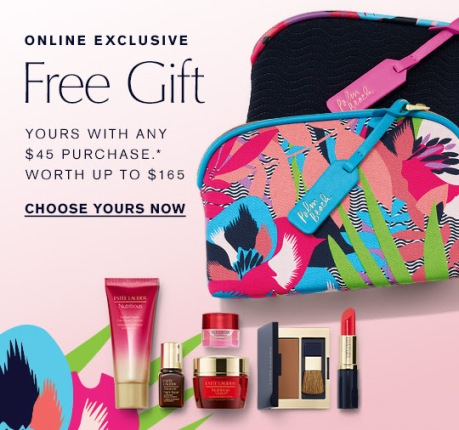 Estee Lauder gift with purchase 7-piece jan 2018 see more at icangwp gift with purchase blog 4