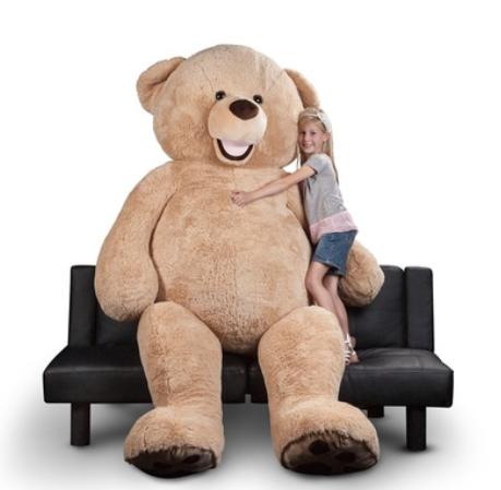 Giant 8ft. Teddy Bear Groupon