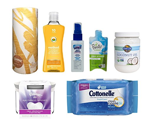 Household Sample Box get an equal credit for future purchase of select household products)