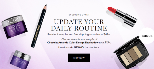January Affiliate Offer lancome see more at icangwp blog.png