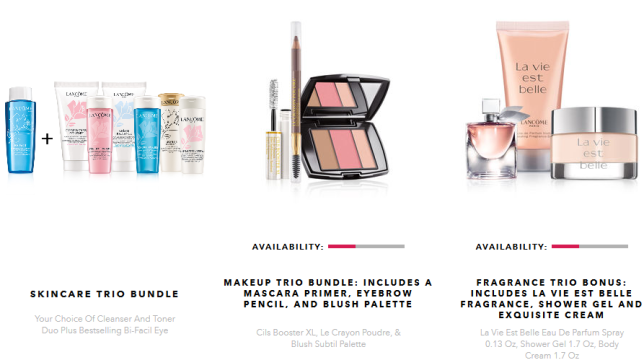 lancome Gift with Purchase step-up gift jan 2018 see more at icangwp gift with purchase blog