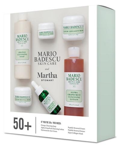 Martha Stewart Mario Badescu Skin Care 50 6 Piece Kit Page 1 — QVC.com