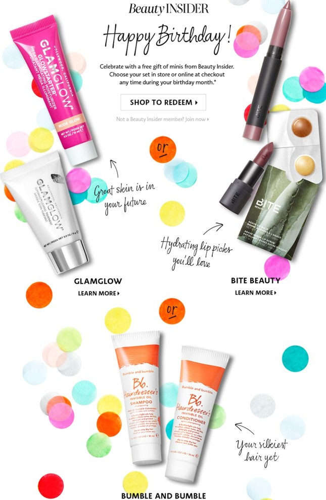 Sephora Birthday Gift 2018 Glamglow See More At Icangwp With Purchase Blog 01