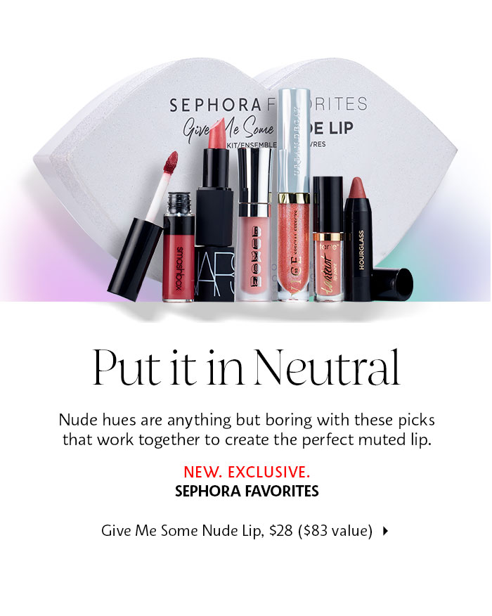 sephora favorites give me some nude lip jan 2018 see more at icangwp gift with purchase blog 2