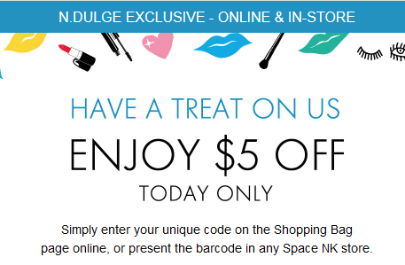 space nk coupon $5 off see more at icangwp blog