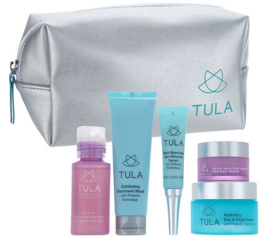 TULA by Dr. Raj 5 Piece Probiotic Skin Care Discovery Kit Page 1 — QVC.com