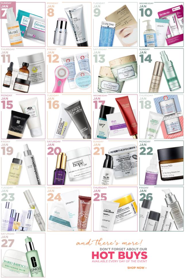 Ulta Skin Event – Love Your Skin Ulta Beauty jan 2018 see more at icangwp blog